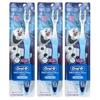 Oral-B Pro-Health Jr Disney Frozen Pulsar Manual Toothbrush (Pack of 3)