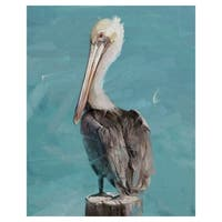 Pelican Perch II by Studio Arts Wrapped Canvas Art