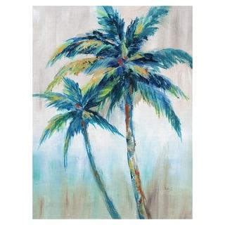 Masterpiece Art Gallery Palm Tree Breeze II by Nan Canvas Art