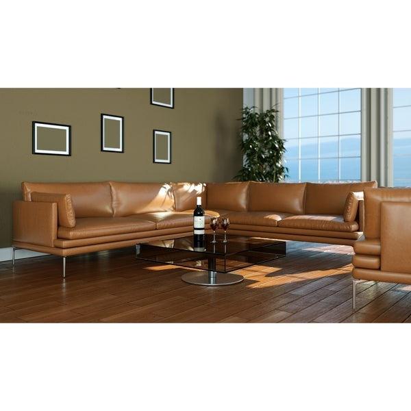Made to Order Roche Studio Pietro Top Grain Leather Sectional Sofa