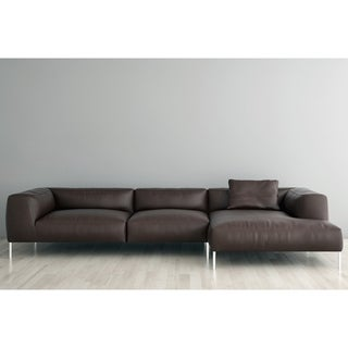 Made to Order Roche Studio Kristoffer Top Grain Leather Sectional Sofa