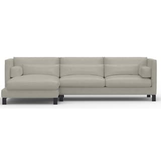 Made to Order Roche Studio Madelyn Top Grain Leather Sectional Sofa
