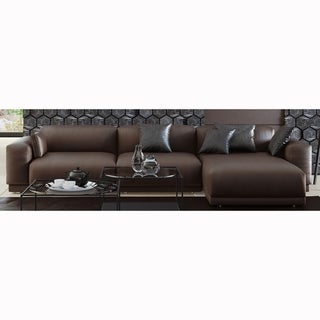 Made to Order Roche Studio Samson Top Grain Leather Sectional Sofa