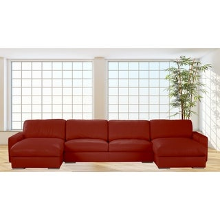 Made to Order Roche Studio Logan Top Grain Leather Sectional Sofa