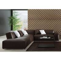 Made to Order Roche Studio Hazel Top Grain Leather Sectional Sofa