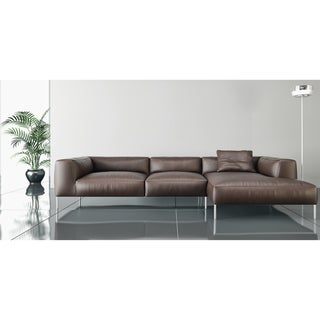 Made to Order Roche Studio Stefan Top Grain Leather Sectional Sofa