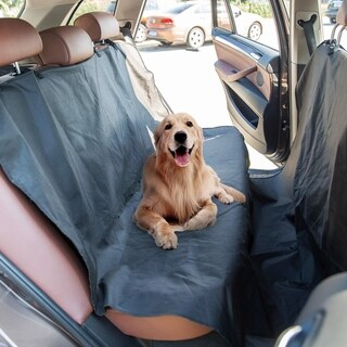 Kinbor Pet Car Cover Waterproof Dog Seat Cover with Hammock