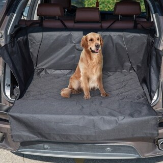 Kinbor Waterproof SUV Cargo Liner Cargo Pet Seat Covers Dogs Non-slip Backing Bed Mat
