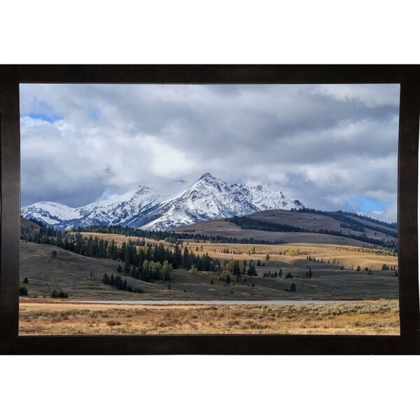 """Swan Lake And Electric Peak-GALONL125208 Print 10""""x15.25"""" by Galloimages Online"""
