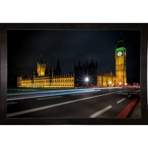 """Colors In The Night -GIUTOR115254 Print 11""""x16.75"""" by Giuseppe Torre"""