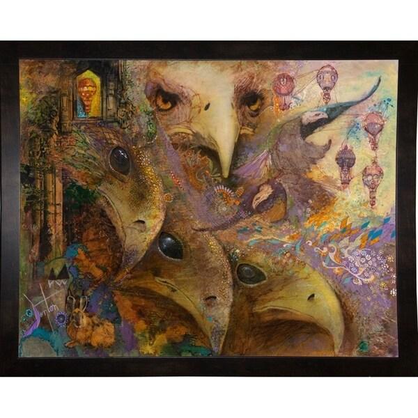 """The Crowded Sky-DENLUN71851 Print 25.5""""x32"""" by Denton Lund"""