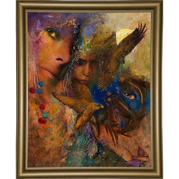"Queen Of The Night-DENLUN71852 Print 31.75""x25.5"" by Denton Lund"