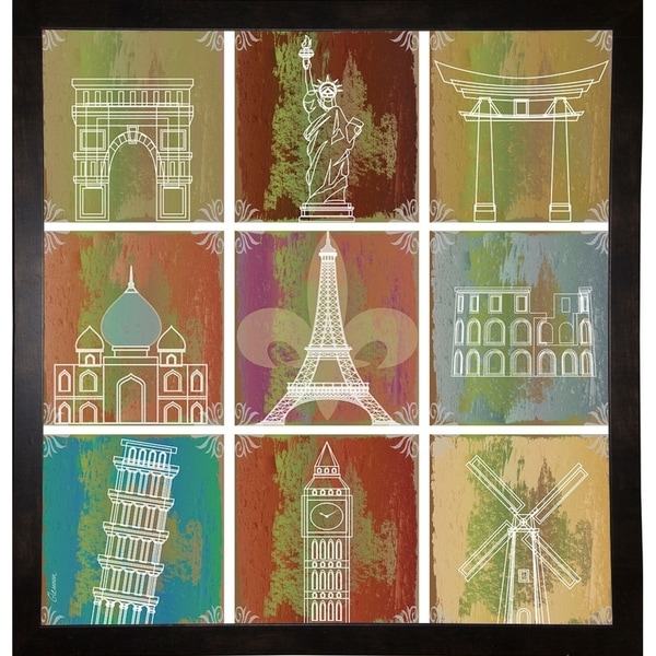 """Inspire Places-MICGLE135399 Print 27.5""""x26.25"""" by Michelle Glennon"""