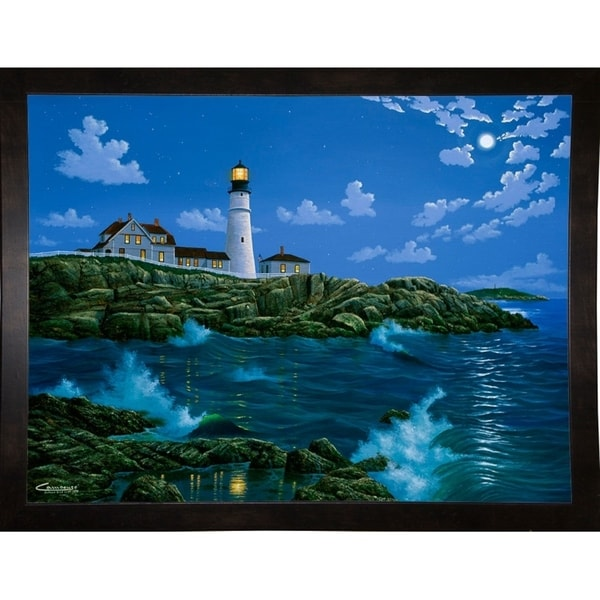 "Portland Head Light-EDUCAM17511 Print 13.25""x17.5"" by Eduardo Camoes"