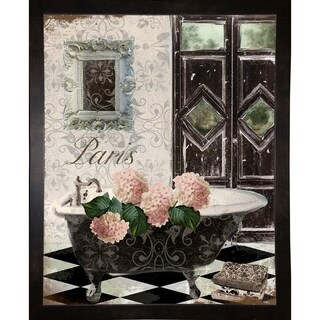"""Le Bain Hydrangea-MINSOM105854 Print 25""""x20"""" by Mindy Sommers"""