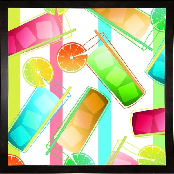 """Summer Fun III-MINSOM105987 Print 24""""x24"""" by Mindy Sommers"""
