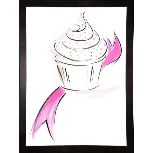 "Cupcake-1-JENLIL105593 Print 8""x5.75"" by Jennifer Lilya"