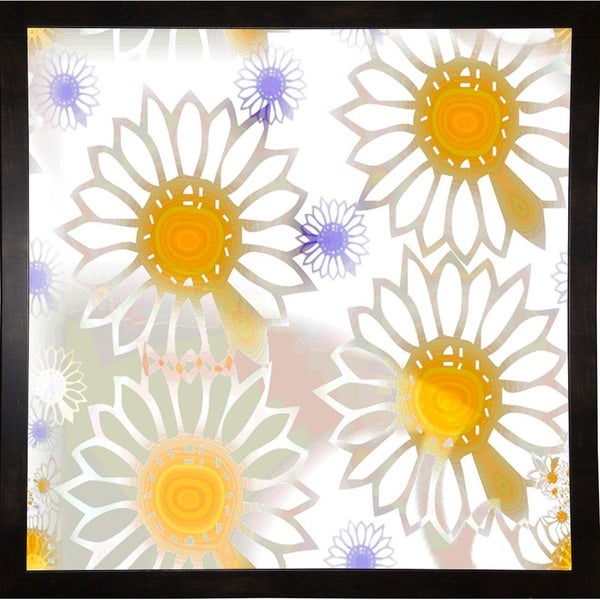 """Playful Daisies-MINSOM91711 Print 13.25""""x13.25"""" by Mindy Sommers"""