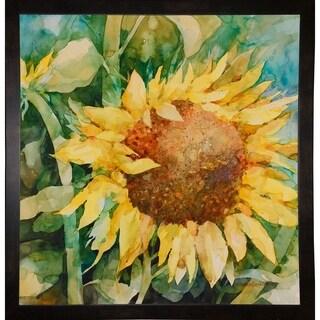 """Sunflower-ANNBEU109015 Print 31""""x30"""" by Annelein Beukenkamp"""