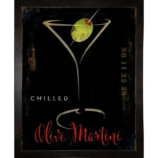 """Olive Martini II-COLBAK141301 Print 30""""x24"""" by Color Bakery"""