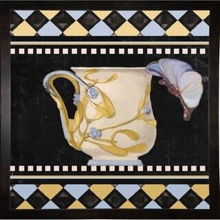 """Bistro Nouveau I-COLBAK110150 Print 15""""x15"""" by Color Bakery"""
