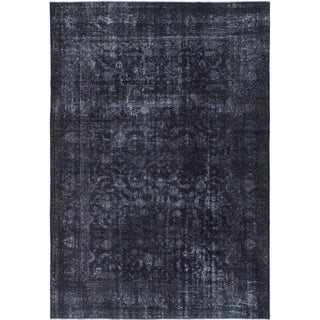 Hand Knotted Ultra Vintage Wool Area Rug - 8' 8 x 12' 6