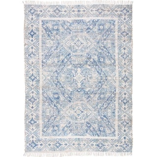 Grand Bazaar Shira Blue Rug (5 x 7) - 5' x 7'