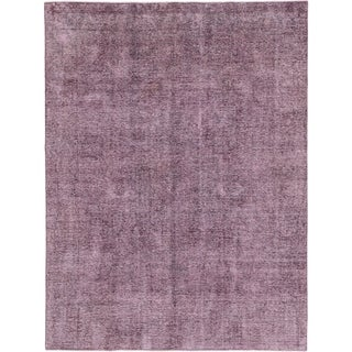 Hand Knotted Ultra Vintage Wool Area Rug - 8' x 10' 3