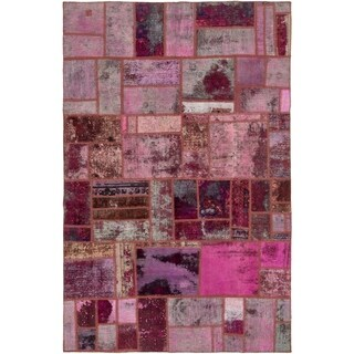 Hand Knotted Ultra Vintage Antique Wool Area Rug - 6' 3 x 9' 9