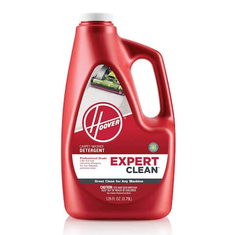Hoover AH15074 128-Ounce Expert Clean Carpet Washing Detergent - Red