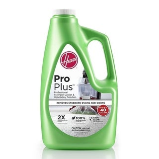 Hoover AH30051 ProPlus 2X Professional Strength Carpet & Upholstery Solution, 120oz. - Green - N/A