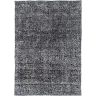 Hand Knotted Ultra Vintage Wool Area Rug - 6' 7 x 9' 3