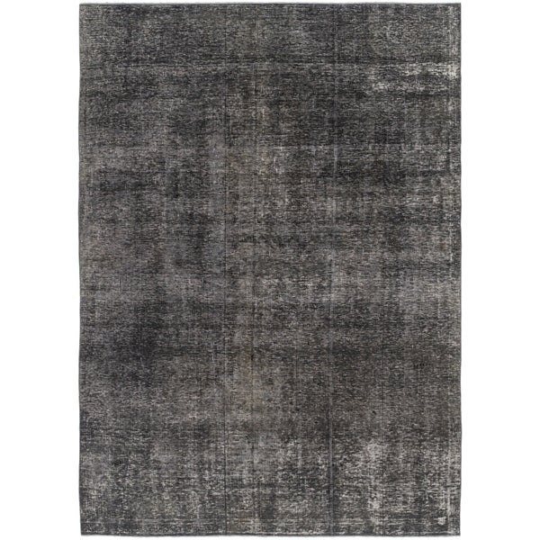 Shop Hand Knotted Ultra Vintage Wool Area Rug 6 7 X 9 3 On
