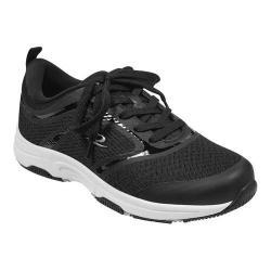 Women's Easy Spirit Onwalk Sneaker Black Mesh (More options available)