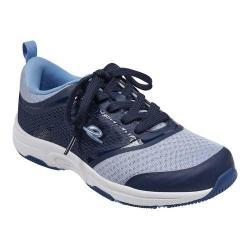 Women's Easy Spirit Onwalk Sneaker Brunnera Blue Mesh