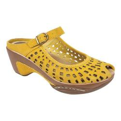 Women's White Mountain Marvy Mustard Leather (More options available)
