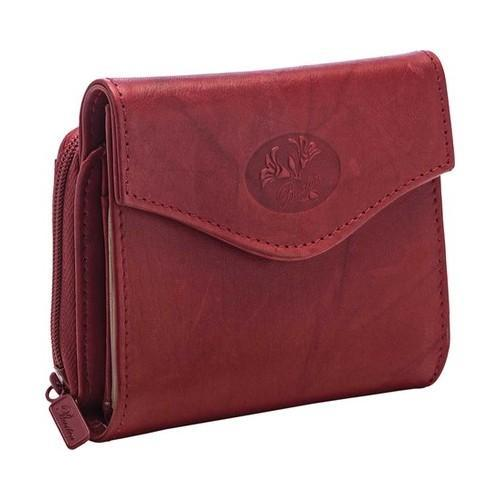 Women X27 S Buxton Heiress Zip French Purse Wallet Red