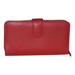 Women's Buxton Chelsea RFID Ensemble Clutch Red