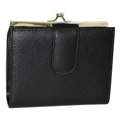 Women's Buxton Chelsea RFID Lexington Clutch Black