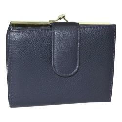 Women's Buxton Chelsea RFID Lexington Clutch Navy