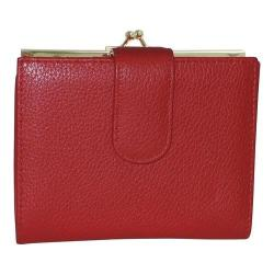 Women's Buxton Chelsea RFID Lexington Clutch Red