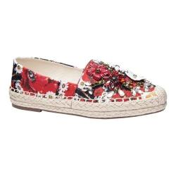 Women's Chinese Laundry Hayden Espadrille Red Floral Print