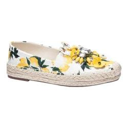 Women's Chinese Laundry Hayden Espadrille Yellow Floral Print
