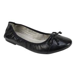 Women's Rialto Sunnyside II Ballet Flat Black Smooth Polyurethane
