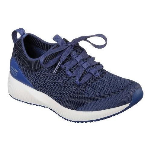 Women's Skechers BOBS Sport Squad Alpha Gal Sneaker Navy