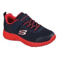 Boys' Skechers Dynamight Ultra Torque Sneaker Navy/Red
