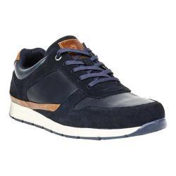 Men's Crevo Harrough Sneaker Navy Leather/Suede