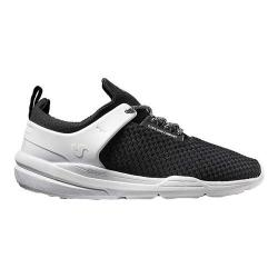 Men's DVS Cinch LT+ Sneaker Black/White Textile Mesh