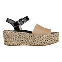 Women's Kenneth Cole New York Danton Platform Sandal Buff/Multi Suede