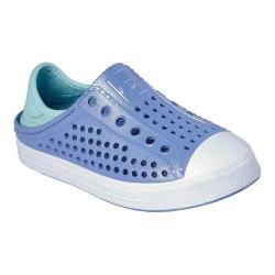 Girls' Skechers Guzman Steps Slip-On Sneaker Lavender/Multi